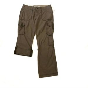 NEW old Navy low rise bootcut cargo pants Capri